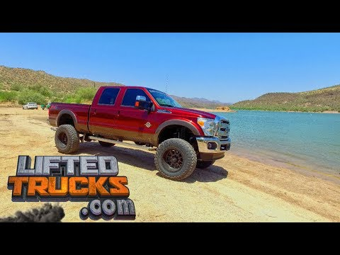 16 Ford F-350 Crew Cab Diesel 4x4 for sale at Lifted Trucks in Arizona