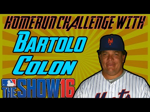 Can Bartolo Colon Hit A Homerun? MLB The Show 16