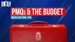 Prime Minister's Questions & The Budget | Watch in full