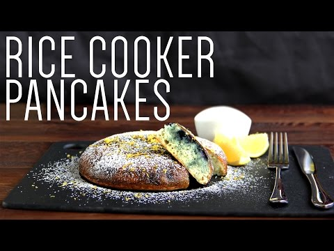 Rice Cooker Pancake | How to make a simple Breakfast