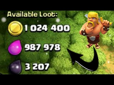 COC - How to Steal Tons of Loot without Spells and Heroes | Awesome Farming Strategy for TH9!!!