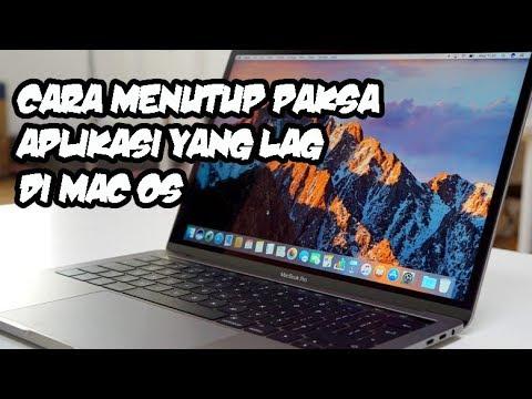 CARA MENUTUP APLIKASI SECARA PAKSA DI MAC OS TASK MANAGER MAC OS