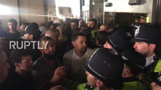 UK: Raging Grenfell Tower protesters storm Kensington Town Hall