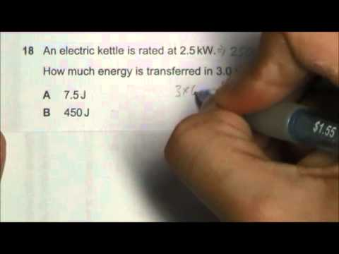 2013 O' Level Physics 5058 Paper 1 Solution Qn 16 to 20