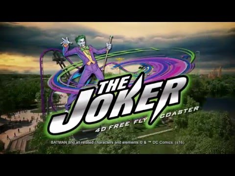 Six Flags Great Adventure S The Joker All New In 2016