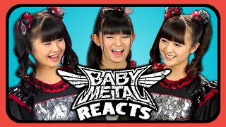 BABYMETAL REACTS TO YOUTUBERS REACT TO BABYMETAL