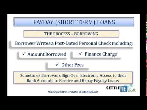 Payday Loans - How It Works