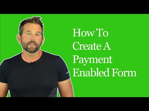 How To Add Payment Enabled Forms To Your Website