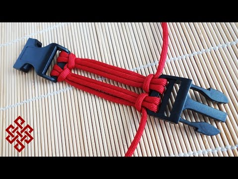 6 Strand Double Cow's Hitch Buckle Core Tutorial