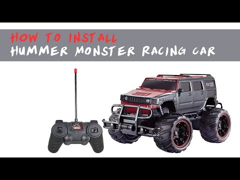 How to install Hummer Monster Racing Car