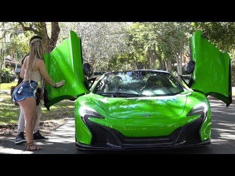 Picking Up Uber Riders In A Mclaren 650s! Ft Tory Lanez