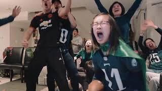 Eagles Win the Superbowl.  Everyone Goes Nuts.