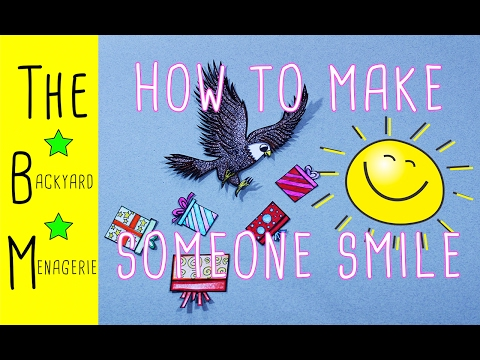 How to Make Someone Smile! (FOR KIDS!)