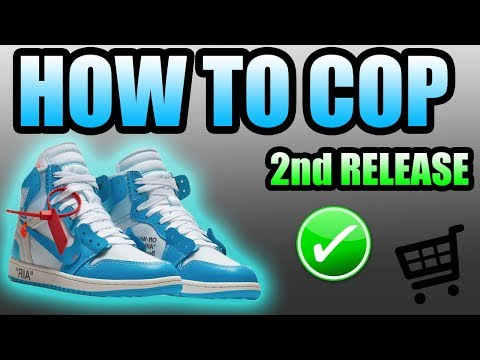 How To Get The OFF WHITE UNC JORDAN 1 ! | Off White Jordan 1 UNC Release Info !