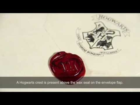 Lot 175 - HARRY POTTER & THE PHILOSOPHER'S STONE (2001) - Harry Potter's Hogwarts Acceptance Letter