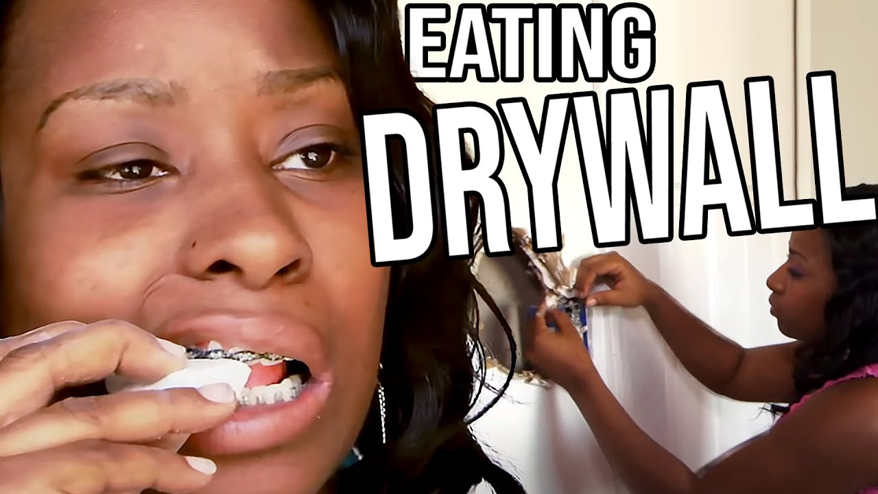 This Woman Can't Stop Eating Her Walls