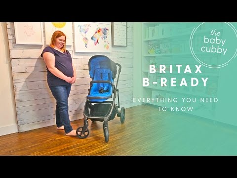 Britax B-Ready Stroller HOW TO - EVERYTHING YOU NEED TO KNOW
