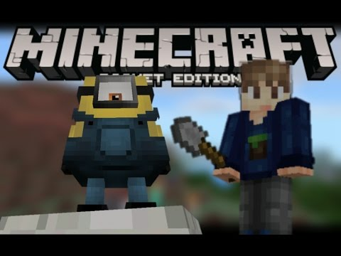 NÔ LỆ MINIONS TRONG MCPE!!!!   Minecraft PE 1.0 AddOns
