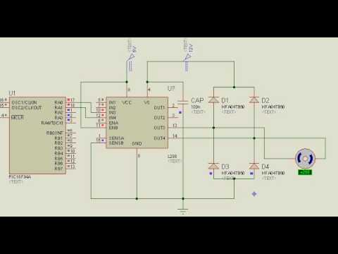 PIC Microcontroller + DC Motor