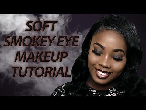 HOW TO DO SOFT SMOKEY EYE MAKEUP | Soft Smokey Eye Tutorial