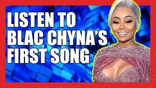 "Blac Chyna Releases First Rap Song ""Deserve"""