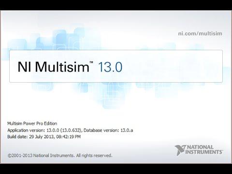 NI Multisim & Ultiboard (Circuit Design Suite) v13 0 1