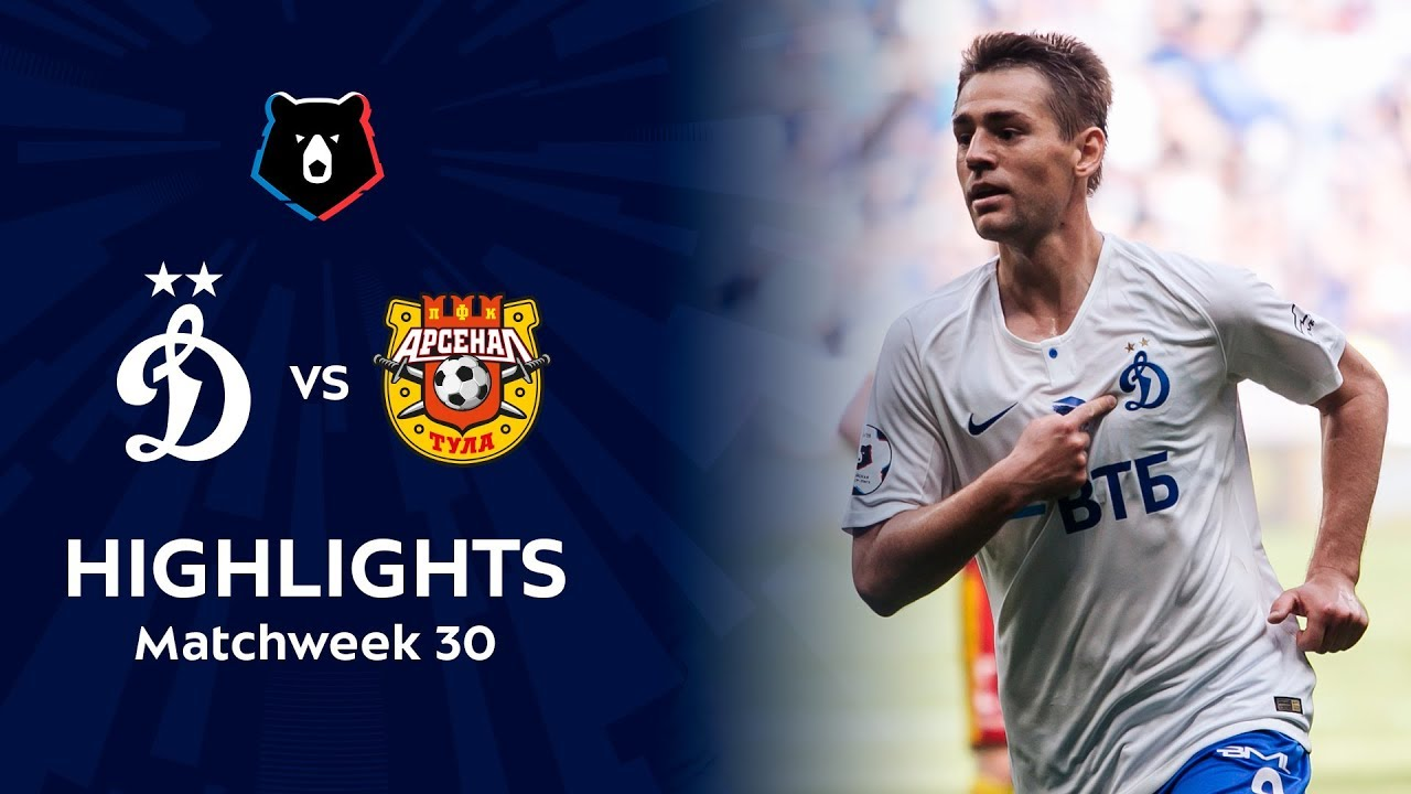 Highlights Dynamo vs Arsenal (3-3) | RPL 2018/19