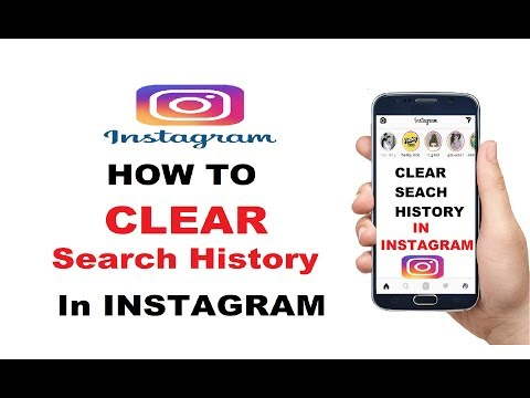 How To Clear Search History in Instagram : Remove Search History in Instagram