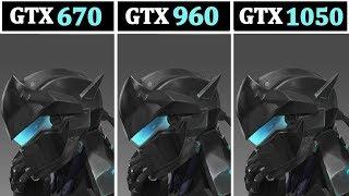 GTX 670 vs 960 vs 1050TI | I5 8400 | Tested 15 Games |