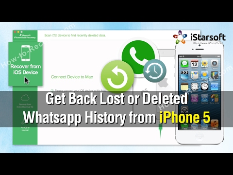 How to Get Back Lost or Deleted Whatsapp History from iPhone 5