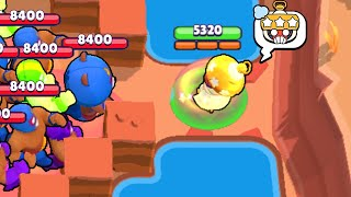 999 PRIMO vs Unlucky SANDY! What Will Happen?! Brawl Stars Funny Moments & Wins & Fails ep.297