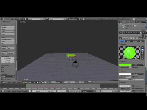 Blender 2.62 Tutorial-How to make an Advanced Intro