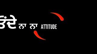 0:33) Attitude Punjabi Status 2018 Punjabi Status Yaari Whatsapp