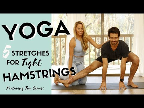 Tight Hamstrings? Yoga for Stretching Hamstrings, Hips, Low Back, Thighs + FREE Printable Download