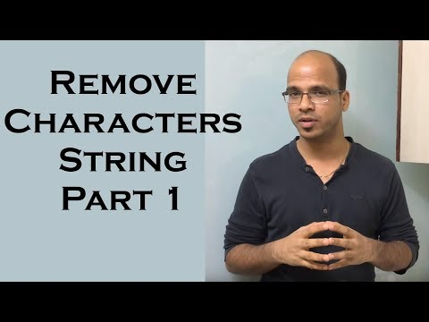Remove Characters from Number String in Java  | use of StringBuffer in Java Part 1