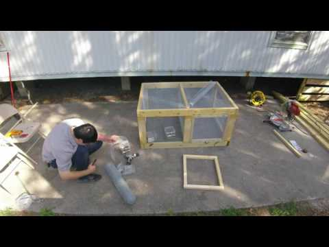 Rabbit Hutch Building Time Lapse