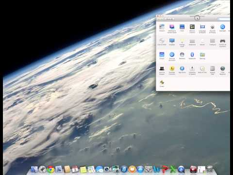 How to: Always display the Scroll bar on a Mac