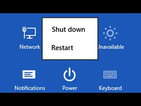 Windows 8 - Shutdown or Restart [Tutorial]