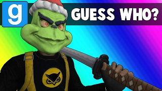 Gmod Guess Who Funny Moments - Becoming a Samurai Master! (Garry