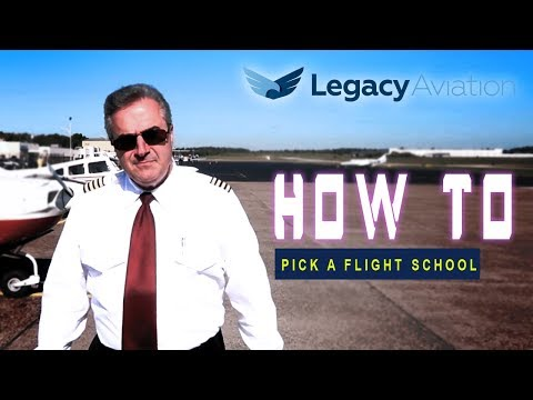 How to Pick a Flight School Legacy Aviation