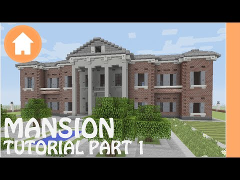 Minecraft Tutorial: How to Build a Mansion in Minecraft #1
