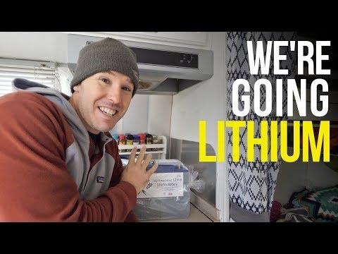 UPGRADING TO BATTLE BORN LITHIUM BATTERIES for RV Living Full Time