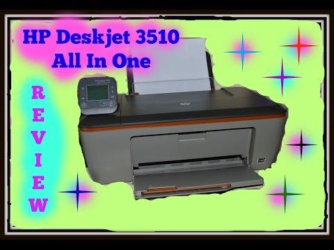 PRODUCT REVIEW: HP Deskjet 3510 Printer All In One- Preguntas Y Consejos