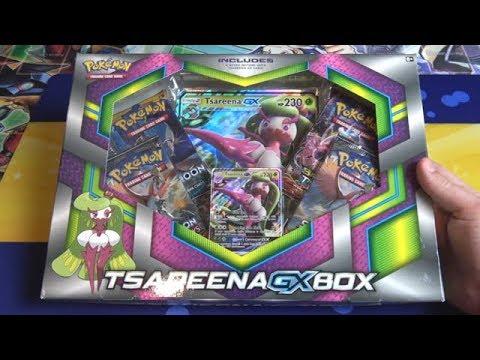 Pokemon Sun & Moon Tsareena GX Box Opening