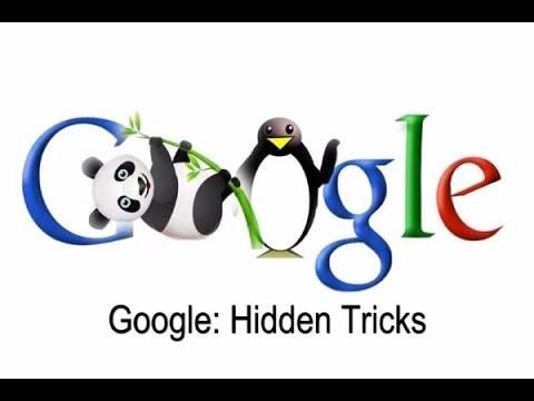 Top 5 Google Tricks You MUST Try! 2017  google gravity, Google pond  