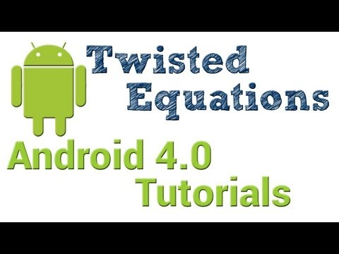 Android 4.0 Tutorials    58. WebView - Part 4. Javascript Interfaces