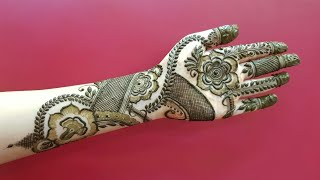 Dubai Henna Design 15 Heena Vahid
