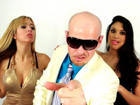 Pitbull - My Own Song! (Rain Over Me Parody ft. Marc Anthony, J-Lo) Key of Awesome #53