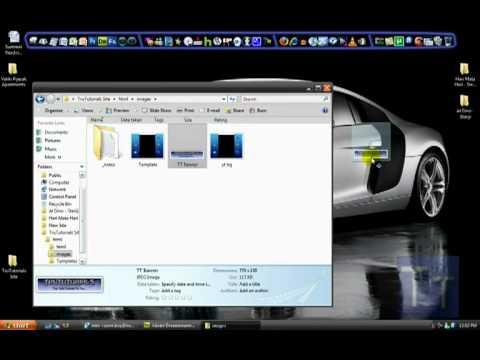 How to create a Website easily in Adobe Dreamweaver CS4 - Part 1 - in HD