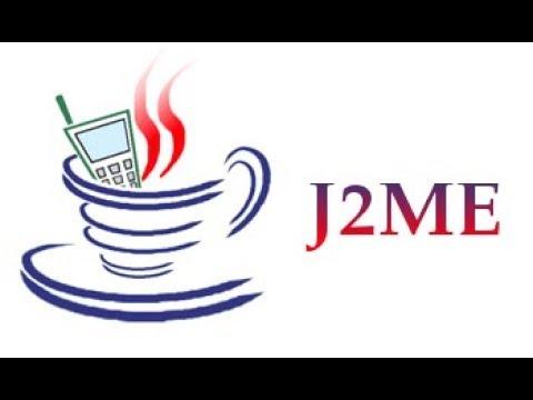 Simple Hello World Program in J2ME MIDlet